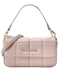 Valentino By Mario Valentino Imperia Small Quilted Shoulder Bag - Rose
