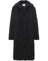 Stand Studio Maxine Faux Fur Coat - Black