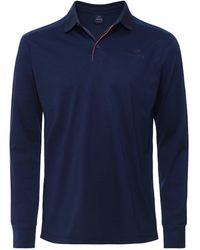 Hackett - AMR Contrast Trim Polo Shirt - Lyst