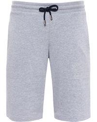 Paul & Shark - Shark Fit Jersey Cotton Shorts - Lyst