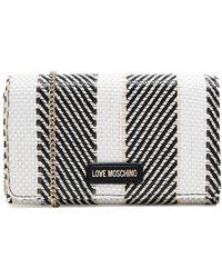 Love Moschino Woven Stripe Crossbody Bag - Multicolor
