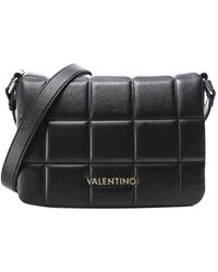 Valentino By Mario Valentino Imperia Quilted Crossbody Bag - Noir