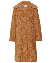 Stand Studio Maxine Faux Fur Coat - Neutre