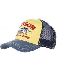 Stetson Dirt Track Racing Trucker Cap - Blue