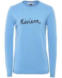Bella Freud Riviera Cashmere Jumper - Blue