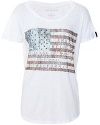 True Religion - American Flag T-Shirt - Lyst