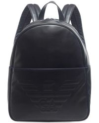 Armani - Maxi Logo Backpack - Lyst
