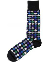 Paul Smith Daley Polka Dot Socks - Noir