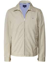 3a8185a51c Men's GANT Casual jackets Online Sale - Lyst