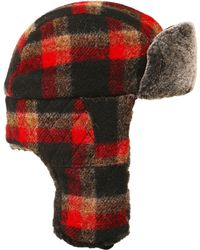 Stetson - Tartan Wool Caerrville Trapper Hat - Lyst