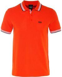 BOSS Green - Regular Fit Paddy Polo Shirt - Lyst