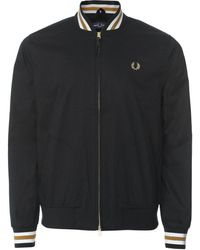 Fred Perry Tennis Bomber Jacket J1532 102 - Noir
