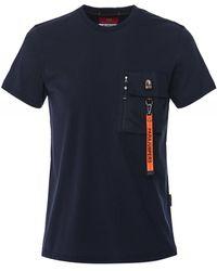 Parajumpers Pocket Mojave T-shirt - Blue