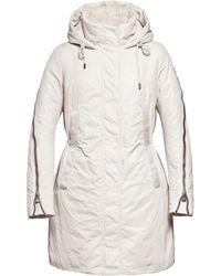 Creenstone - Hooded Zip Sleeve Coat - Lyst