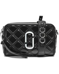 Marc Jacobs The Quilted Softshot 21 Bag - Noir