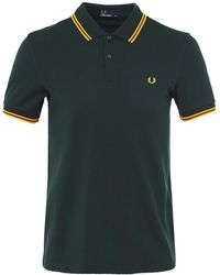 Fred Perry - Twin Tipped Polo Shirt M3600 F40 - Lyst