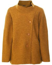 Oska Poza Virgin Wool Jacket - Brown