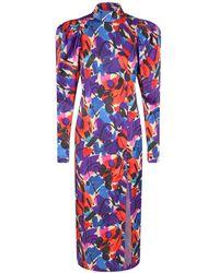 ROTATE BIRGER CHRISTENSEN Theresa Midi Dress - Multicolore