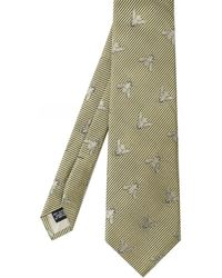 Favourbrook Silk Bees Tie - Metallic