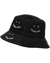 Paul Smith Ps Happy Bucket Hat - Black