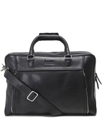 Loake - Leather Aviator Travel Bag - Lyst