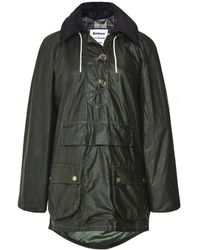 Barbour ALEXACHUNG Coco Waxed Cotton Jacket - Vert