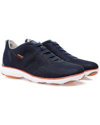 Geox Mesh Nebula Sneakers - Blue