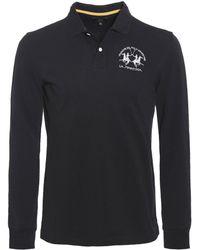 La Martina - Regular Fit Long Sleeve Milo Polo Shirt - Lyst