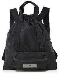 adidas By Stella McCartney - Borsa A Mano Gym In Nylon Nero Women s  Handbags In Black 9ef6ea86cb718