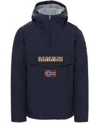 Napapijri Waterproof Rainforest Winter Jacket - Bleu