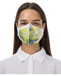 Grizas PATTERNED FACE MASK 3 PACK - Jaune