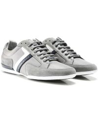 BOSS Athleisure Spacit Trainers - Gris