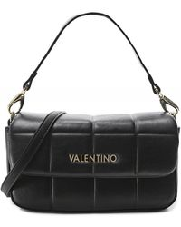 Valentino By Mario Valentino Imperia Small Quilted Shoulder Bag - Noir