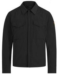 Belstaff - Water-repellent Command Overshirt - Lyst