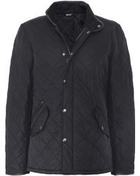 Barbour Quilted Powell Jacket - Black