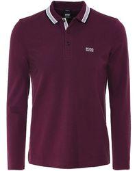 e2f6eeec23652 BOSS Green 'pavotech' | Slim Fit, Stretch Techno Jersey Polo Shirt ...