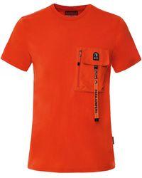 Parajumpers Pocket Mojave T-shirt - Orange