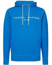 Tommy Hilfiger - Logo Hoodie - Lyst