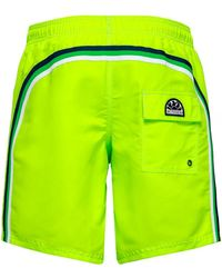 Sundek - Mid-length Swim Shorts - Lyst
