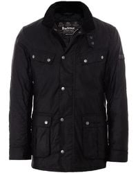 Barbour Duke Wax International Jacket - Black