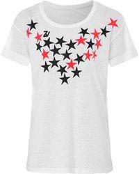 Zadig & Voltaire - Anya Stars T-shirt - Lyst