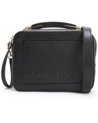 Marc Jacobs - The Box 20 Pebbled Leather Bag - Lyst