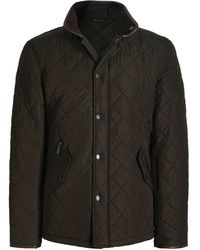 Barbour Quilted Powell Jacket - Green