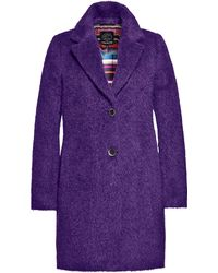 Creenstone - Brushed Mohair Coat - Lyst