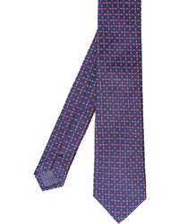 Eton of Sweden - Silk Micro Square Tie - Lyst