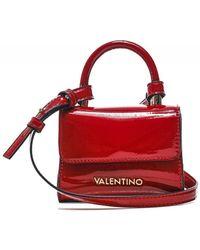 Valentino By Mario Valentino Vendome Patent Mini Crossbody Bag - Rouge