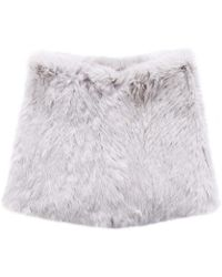 Yves Salomon - Fur Snood - Lyst