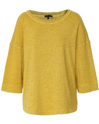 Oska Jubal Stripe Jersey Top - Yellow