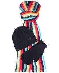 Paul Smith Winter Accessories Gift Set - Black
