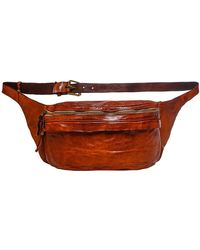 Campomaggi Leather Waist Bag - Brown